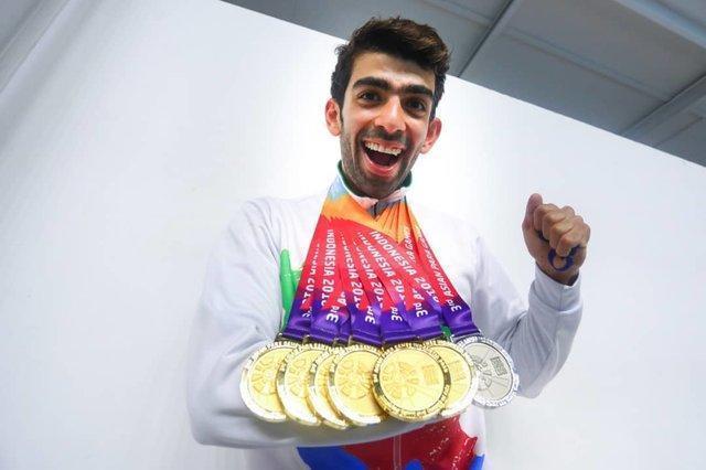 ایران در بازی های پاراآسیایی سوم شد، بهترین صندلی در ادوار گذشته