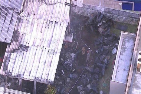 حریق در یک کمپ ورزشی در برزیل با 10 کشته و 3 زخمی