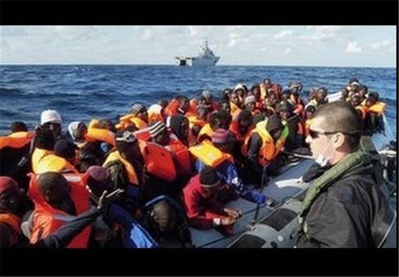 نجات دوهزار مهاجر آفریقایی در آبهای ایتالیا