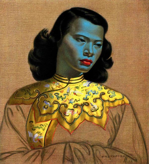 نقاشی محبوب دختر چینی