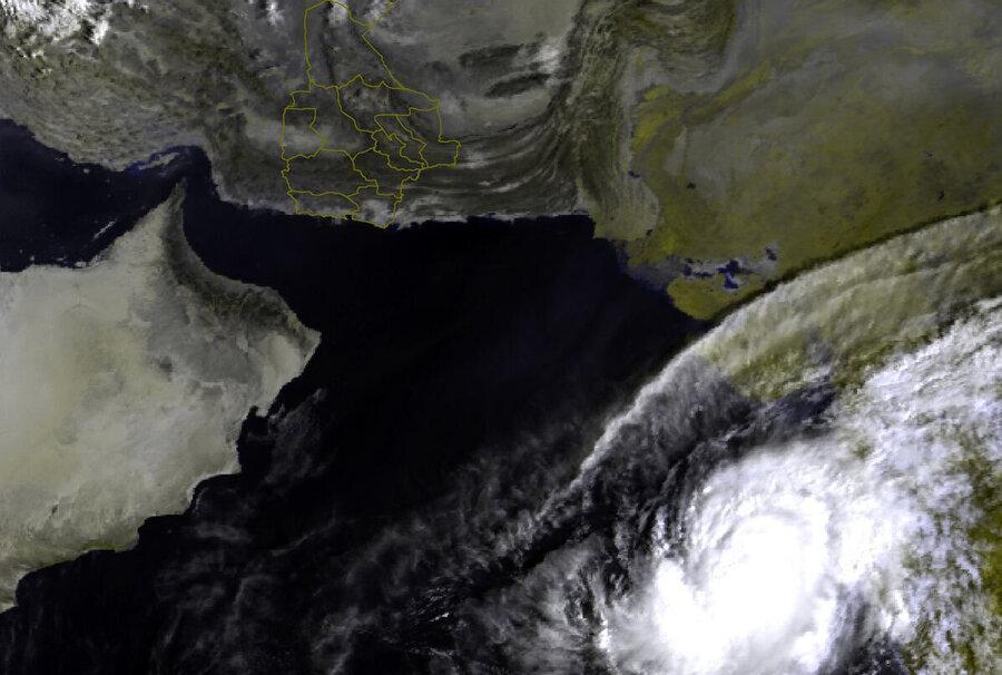 توفان حاره ای ماها در شمال اقیانوس هند تشکیل شد