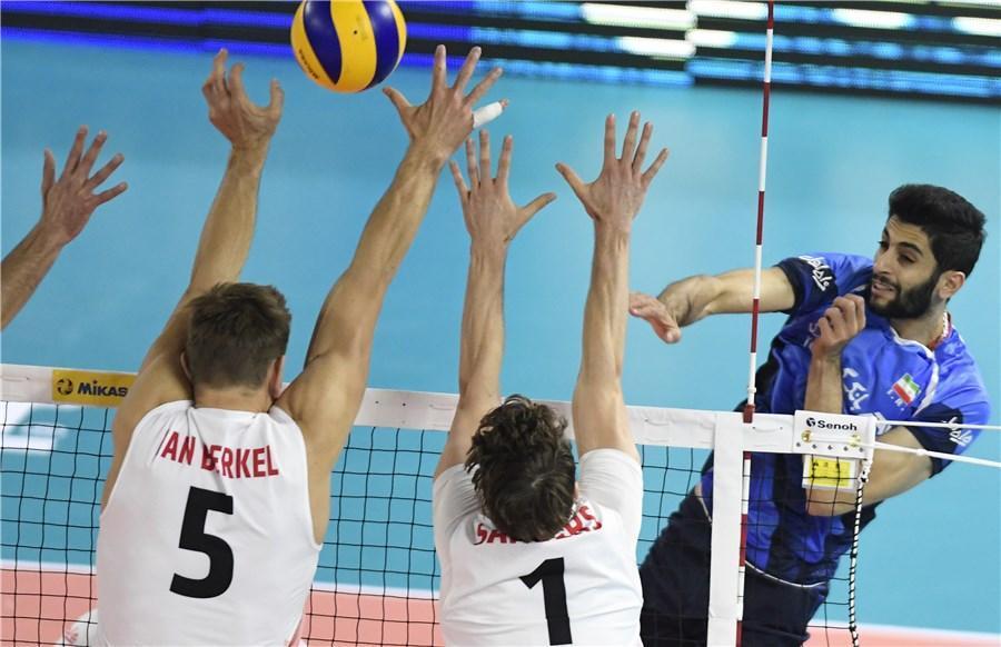 شکست والیبال ایران برابر کانادا ، شگفتی سازی آلمان و چین با شکست مدعیان