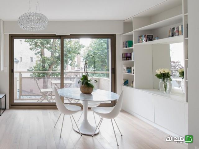 بازسازی و نوسازی آپارتمان، مدرن شدن خانه کلاسیک 55 متری!