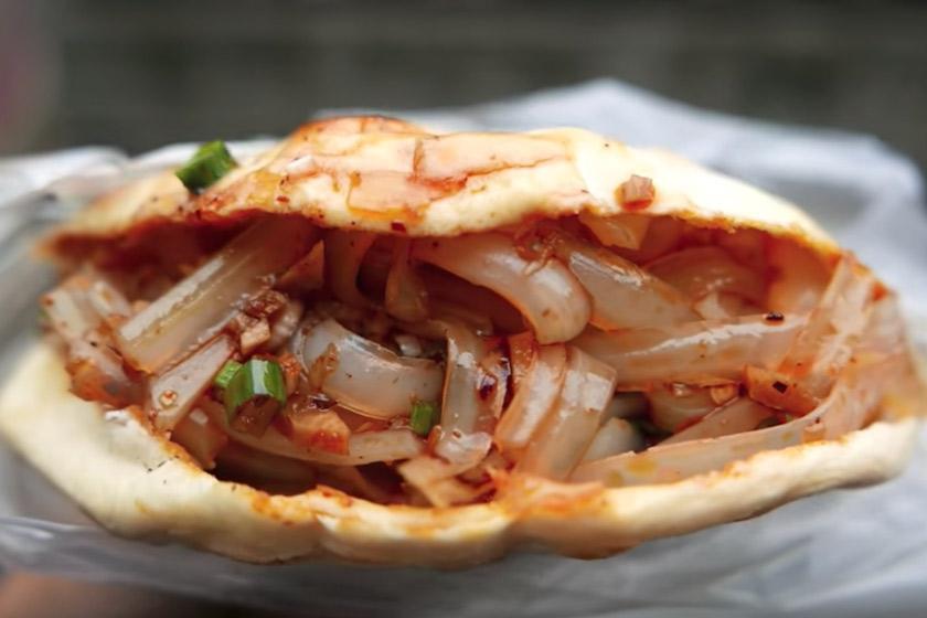 تماشا کنید: ساندویچ نودل چینی