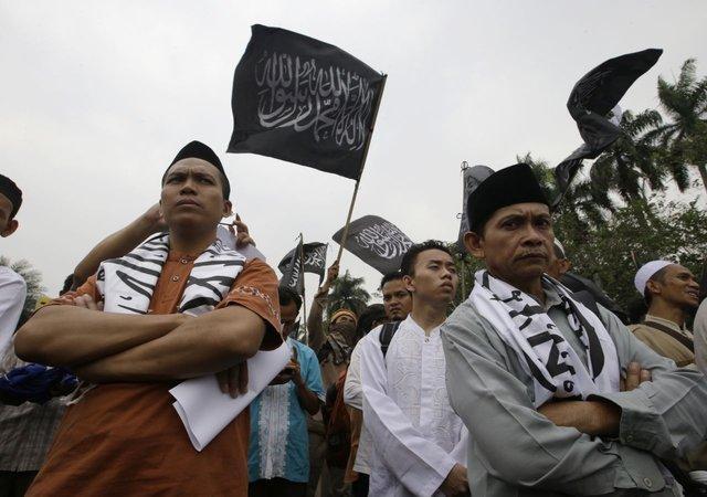 حزب اسلام گرای التحریر اندونزی ممنوع الفعالیت شد