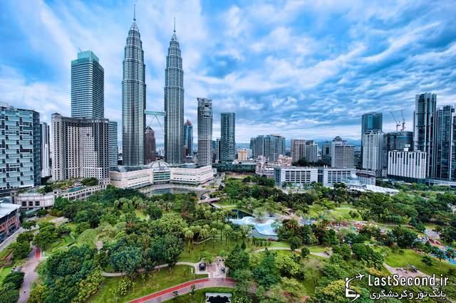 برج های دوقلوی پتروناس، کوالالامپور