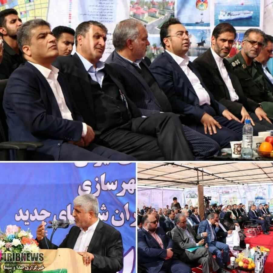 شروع ساخت شهرجدید تیس و فرودگاه چابهار با حضور وزیر راه