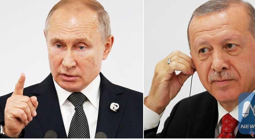 بیانیه مشترک پوتین و اردوغان درباره تنش های ایران و آمریکا