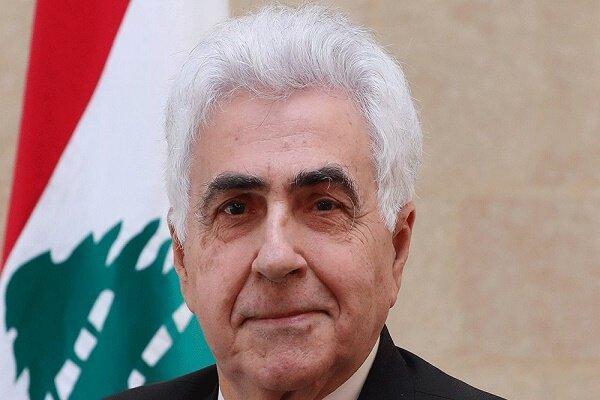 ملاقات وزیر خارجه لبنان با سفیر دمشق در بیروت