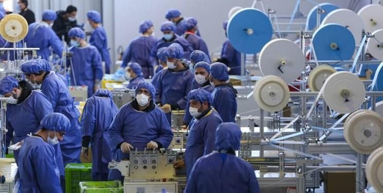 دستگاه نانوالیاف ایرانی در بزرگ ترین کارخانه فراوری ماسک کشوربه بهره برداری رسید