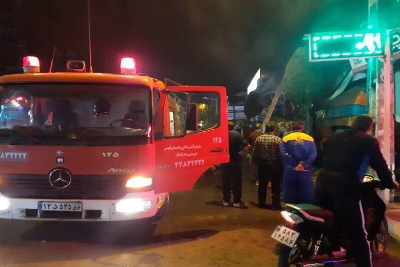 خبرنگاران حادثه آتش سوزی مجتمع مسکونی در اصفهان تلفات جانی نداشت