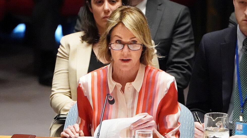 بیانیه نماینده آمریکا در سازمان ملل در پی شکست در شورای امنیت
