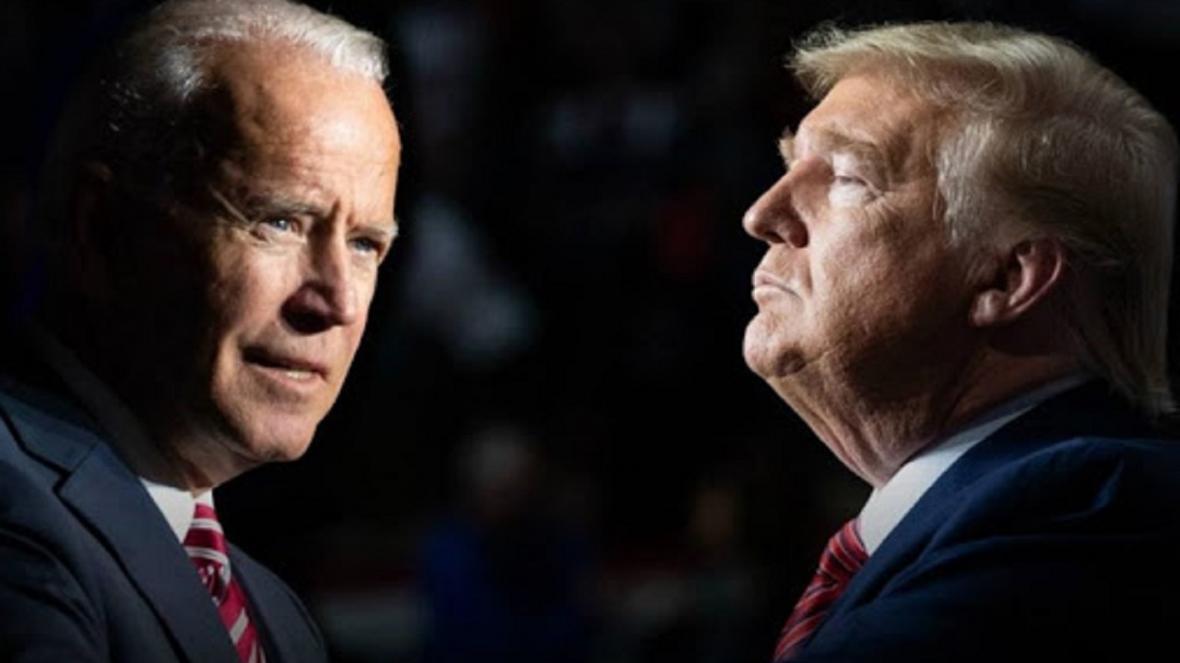 ترامپ در نظرسنجی ها از بایدن عقب افتاد