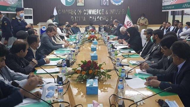 آغاز به کار هشتمین نشست کمیته تجارت مرزی ایران و پاکستان در کویته