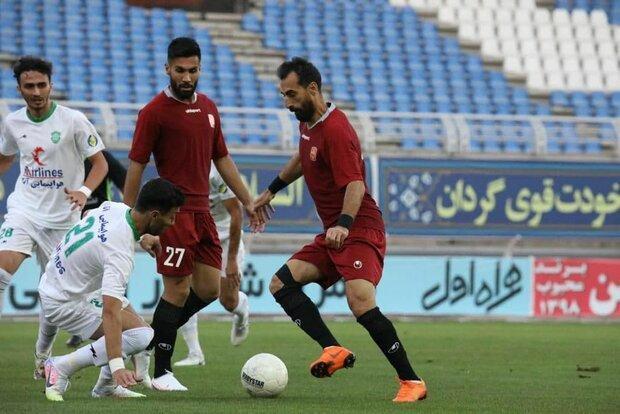 طوفان عنابی پوشان مشهدی در نخستین بازی لیگ بیستم