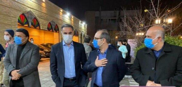 استقلالی ها در مراسم جایزه ناصر حجازی ملاقات تازه کردند