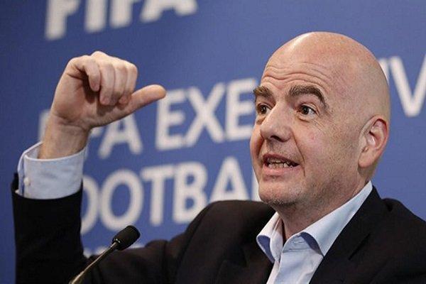 رئیس فیفا: جام جهانی باشگاه ها را گسترش می دهیم