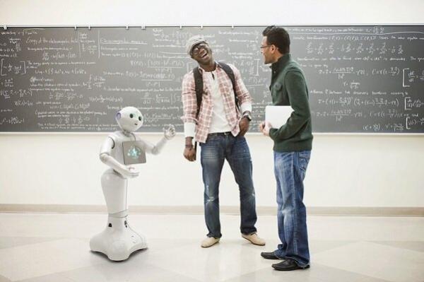 رباتی که برای حل مسائل با خودش حرف می زند