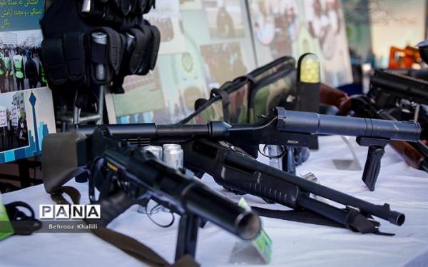 کشف سلاح جنگی در تهران