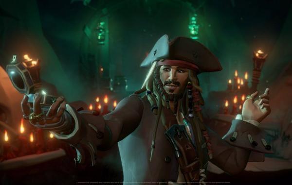 دزدان دریایی کارائیب به Sea of Thieves می آیند