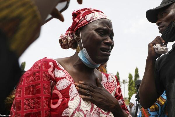 (ویدئو) سوگواری والدین دختران ربوده شده در نیجریه