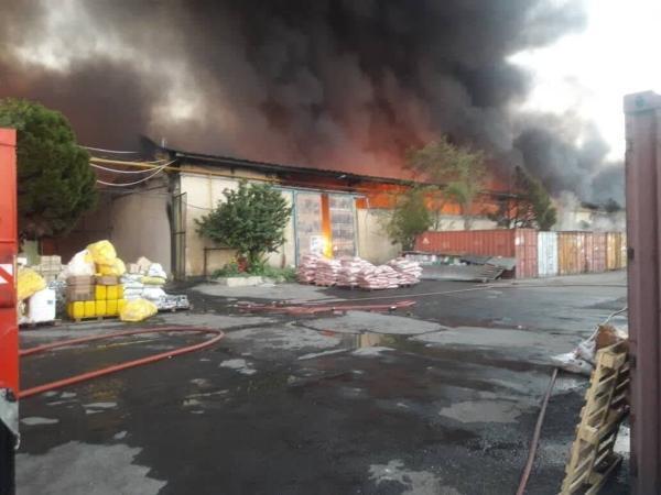 5 نفر در آتش سوزی کارگاه مبل جان باختند