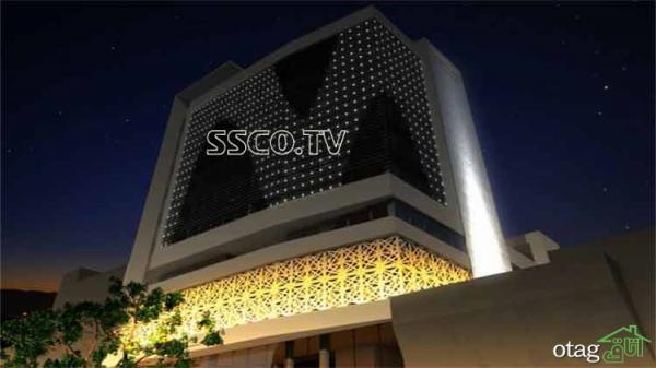 با نورپردازی نمای ساختمان مشتری بیشتری جذب کنید!