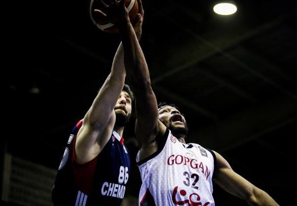 لیگ برتر بسکتبال، شیمیدر سوم شد، شاهکار کاظمی در آخرین بازی