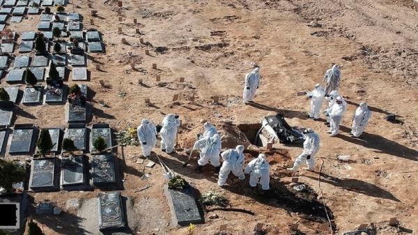 فوت هشت بیمار مبتلا به کرونا در کرمانشاه