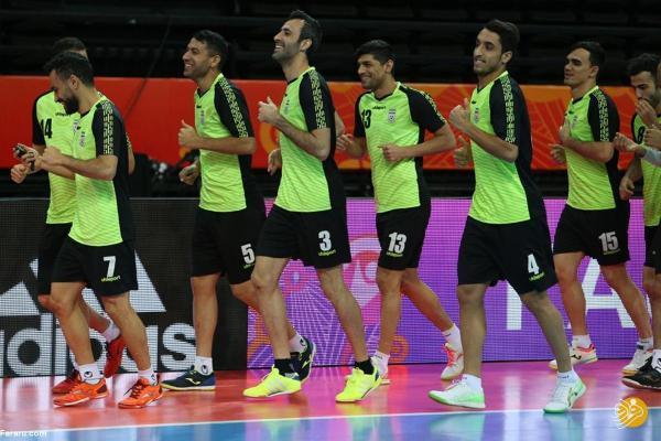 ساعت بازی فوتسال ایران ، قزاقستان در جام جهانی